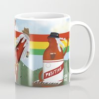 rasta Mugs featuring rasta & cheers by gran mike