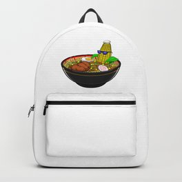 Corn Ramen Bath Japanese Instant Noodle Foodie Backpack