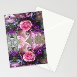Kaleidoscope Floral Bouquet Stationery Cards