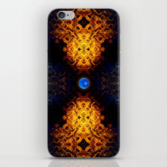 Earth And Fire iPhone & iPod Skin