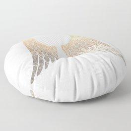 GOLD WINGS Floor Pillow