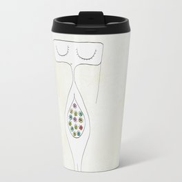 butterflies in your stomach  Travel Mug