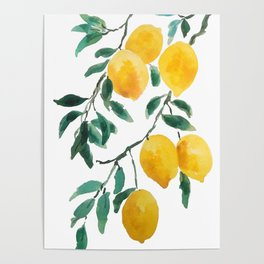 yellow lemon 2018 Poster