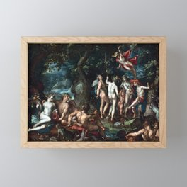 Joachim Anthoniz Wtewael The Judgment of Paris Framed Mini Art Print