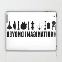 Beyond imagination: Shenzhou 5 postage stamp  Laptop & iPad Skin