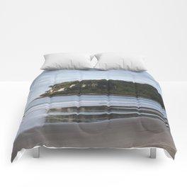 Coastal landscape Comforters