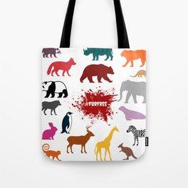 #FurFree ! Tote Bag