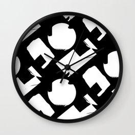 BURNOUT GEO Wall Clock