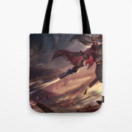 High Noon Yasuo League Of Legends Tote Bag