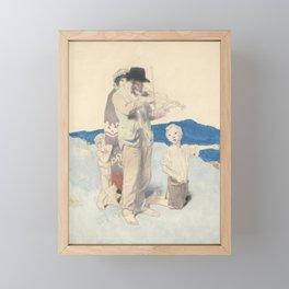 Sir William Orpen, R.W.S., N.E.A.C., R.A., R.H.A. 1878-1931 THE FIDDLER Framed Mini Art Print