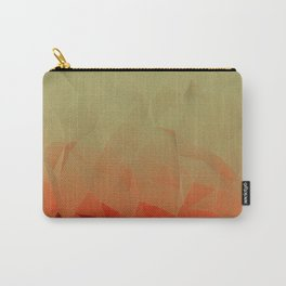 low poly gradient Carry-All Pouch