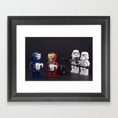 We found the Droids! Framed Art Print