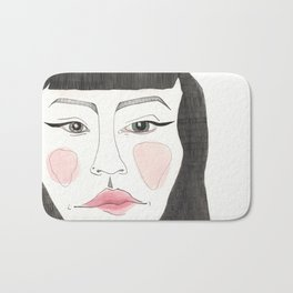 A Woman Thinks About the Tea Party, and is Pissed Off Bath Mat