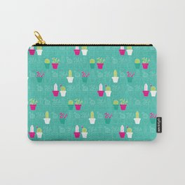 Mini Cactus Love Carry-All Pouch