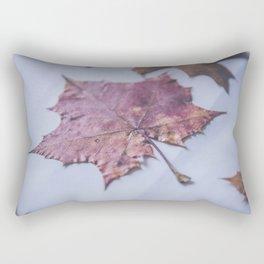 Colorful dried autumn foliage Rectangular Pillow