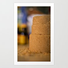 Elemental Baking - Brown Sugar Art Print