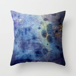 Blurple Throw Pillow
