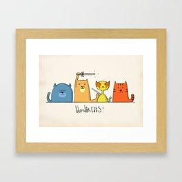 Thundercats Framed Art Print