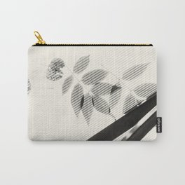 Forgotten Leaves on Plastic Roof Abstract Carry-All Pouch