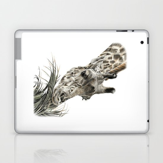 Giraffe - A Long Munch Laptop & iPad Skin