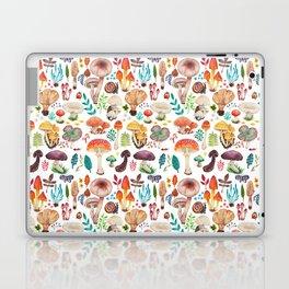 Mushroom heart Laptop & iPad Skin