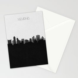 City Skylines: Memphis (Alternative) Stationery Cards
