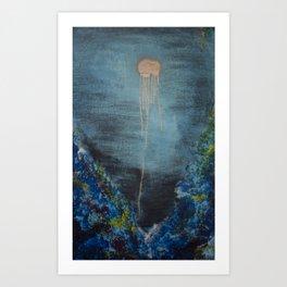 The Golden Light Art Print