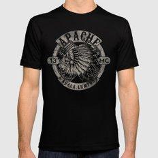 Apache Sereng (Malaysia Biker Gang Logo) Black Mens Fitted Tee MEDIUM