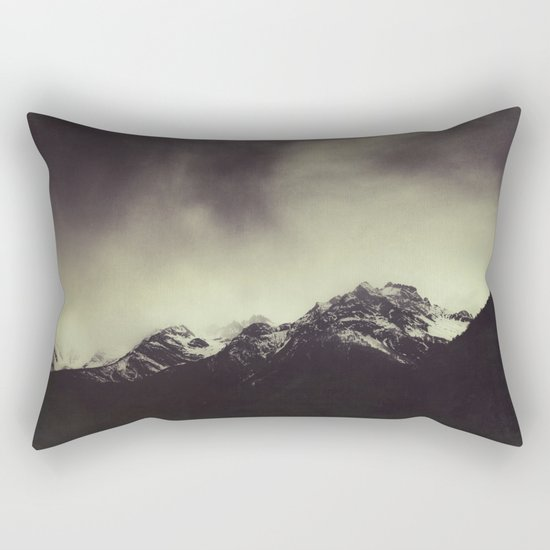 Shadow Mountain - Italian Alps Rectangular Pillow