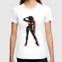bikini T-shirts featuring BIKINI by Trokola
