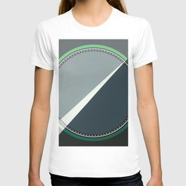 London - green circle T-shirt