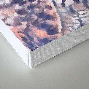 Fluffy owl Canvas Print