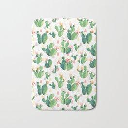 Cactus pattern Bath Mat