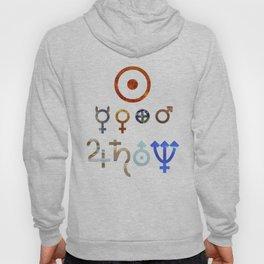 Planetary Symbols II Hoody