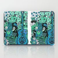 hippy iPad Cases featuring Hippy Puss by SwanniePhotoArt