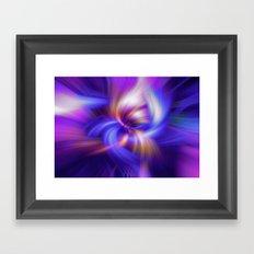 Abstract Twirls Wallpaper Framed Art Print