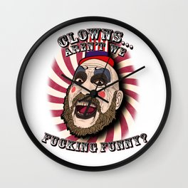 Captain spaulding | devils rejects Wall Clock