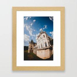 Biltmore Under Blue Skies Framed Art Print