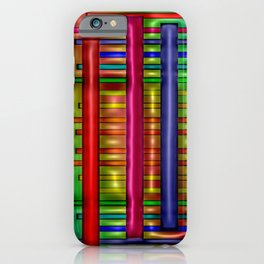 Colorful plastics ... iPhone Case