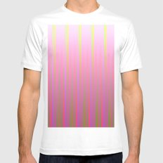 Fade M31 MEDIUM White Mens Fitted Tee
