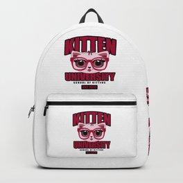 Kitten University - Pink Backpack