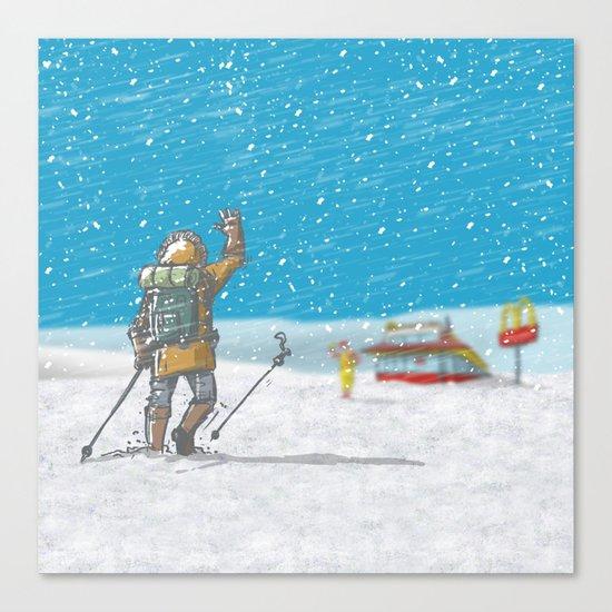 Freeze Canvas Print