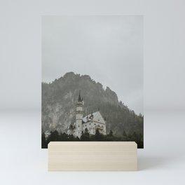 Castle on the hill; Schloss Neuschwanstein | Colourful Travel Photography | Schwangau, Germany (Europe) Mini Art Print