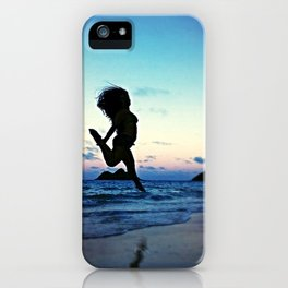 Dancing with the Wind iPhone Case
