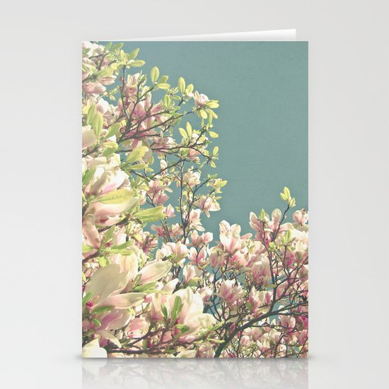 Magnolia in Bloom Stationery Cards