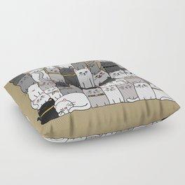 The Glaring - Scandinavian Palette Floor Pillow