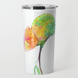 Curious Chameleon Travel Mug