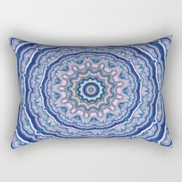 Agate Mandala Rectangular Pillow