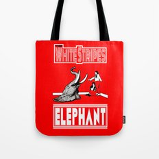 The White Stripes  |  Elephant Tote Bag
