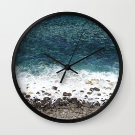 Ocean blue - Madeira Wall Clock